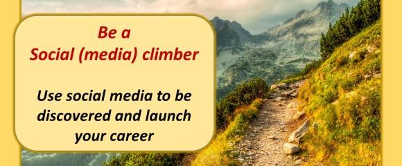 social media climber post